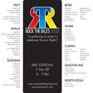 Rock The Riles 08 Poster
